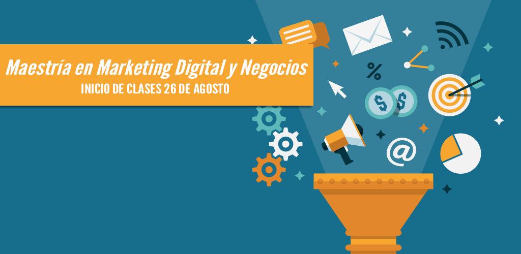 Maestría en Marketing Digital Online