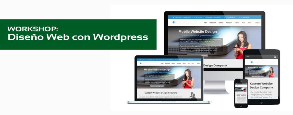 Curso de diseño de páginas web con WordPress Morelia