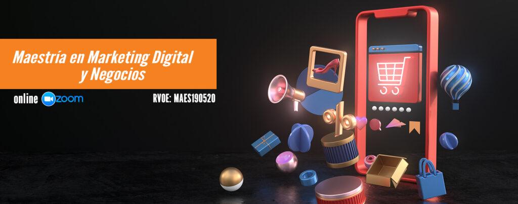Maestria en marketing digital en linea